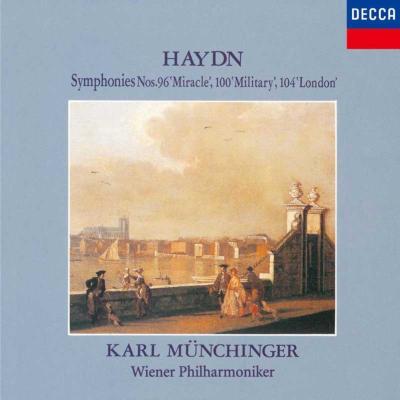 交響曲第96番『奇蹟』、第100番『軍隊』、第104番『ロンドン』 ミュンヒンガー&ウィーン・フィル(限定盤)