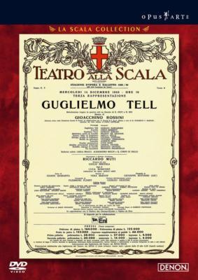 『ウィリアム・テル』全曲 ロンコーニ演出、ムーティ&スカラ座、ザンカナーロ、ステューダー、他(1988 ステレオ)(2DVD)