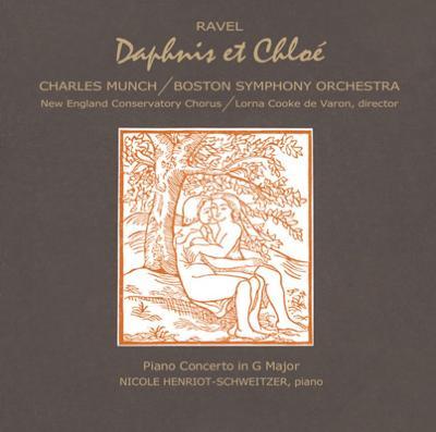 『ダフニスとクロエ』全曲(1961年録音)、ピアノ協奏曲 ミュンシュ&ボストン交響楽団、アンリオ=シュヴァイツァー(限定盤)