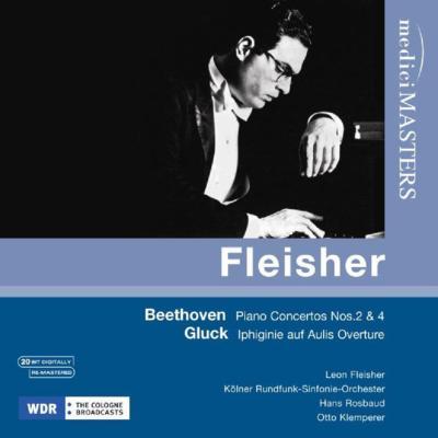 Piano Concerto No.2 (Rosbaud, 1957), No.4 (Klemperer, 1956), Gluck : Fleisher, Cologne Radio Symphony Orchestra