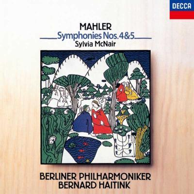 交響曲第4番、第5番 ハイティンク&ベルリン・フィル、マクネアー(2CD)