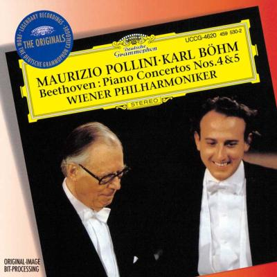ピアノ協奏曲第4番、第5番『皇帝』 ポリーニ、ベーム&ウィーン・フィル