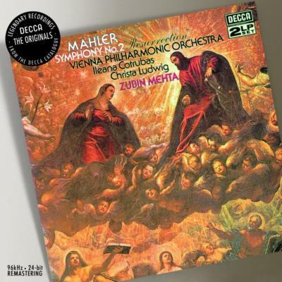 交響曲第2番『復活』 メータ&ウィーン・フィル、ルートヴィヒ、コトルバス
