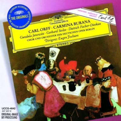 カルミナ・ブラーナ ベルリン・ドイツ・オペラ、ヤノヴィッツ、フィッシャー=ディースカウ、他
