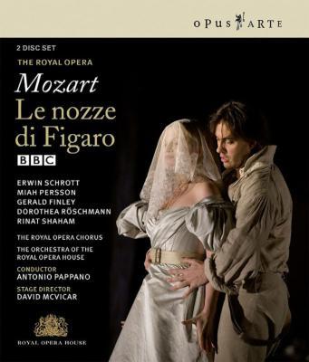 『フィガロの結婚』全曲 マクヴィカー演出、パッパーノ&コヴェント・ガーデン王立歌劇場、シュロット、レッシュマン、他(2006 ステレオ)(2Blu−ray)