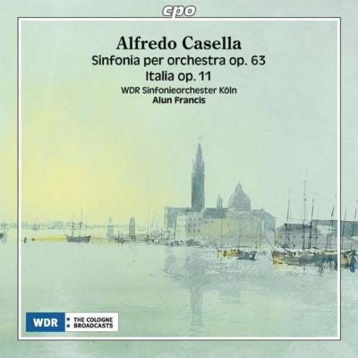 交響曲第3番、ラプソディ『イタリア』 フランシス&ケルン放送響