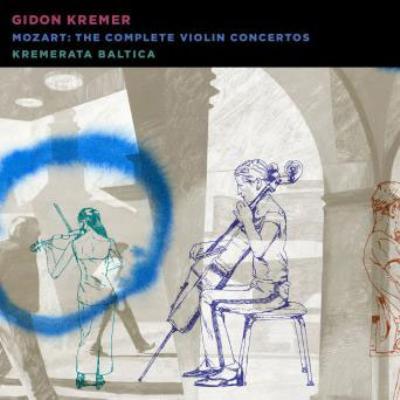 ヴァイオリン協奏曲全集 ギドン・クレーメル、クレメラータ・バルティカ(2CD)