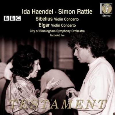 シベリウス:ヴァイオリン協奏曲、エルガー:ヴァイオリン協奏曲 イダ・ヘンデル、ラトル&バーミンガム市響(日本語解説付)