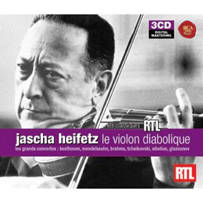 Heifetz The Main Violin Concertos (3CD)