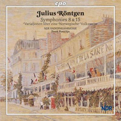 交響曲第8番、第15番、ノルウェー民謡による変奏曲 ポルセリーン&北ドイツ放送フィル