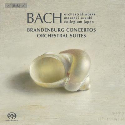 ブランデンブルク協奏曲全曲(2008新録音)、管弦楽組曲全曲 鈴木雅明&バッハ・コレギウム・ジャパン(3SACD)