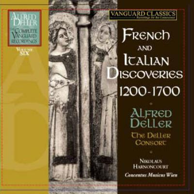 Alfred Deller The Complete Vanguard Recordings Vol.6 -French and Italian Discoveries 1200-1700 (6CD)
