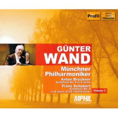 ブルックナー:交響曲第8番、シューベルト:交響曲第8番『未完成』 ヴァント&ミュンヘン・フィル(2CD)