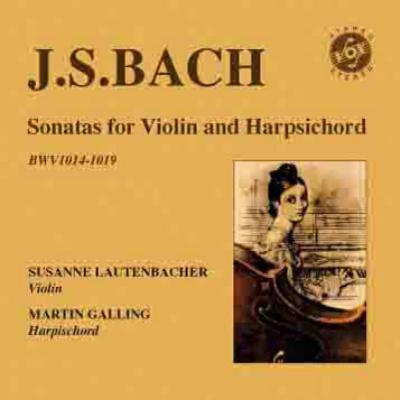 6つのヴァイオリン・ソナタ ラウテンバッハー、ガリング(2CD)