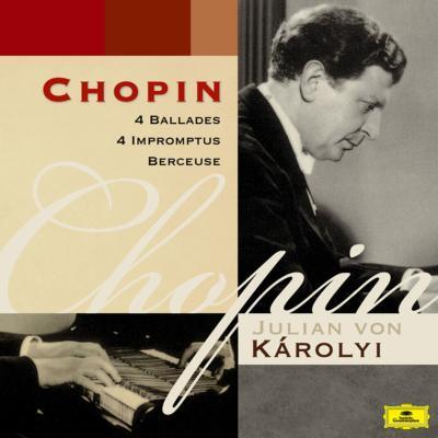 4つのバラード、4つの即興曲、子守歌 フォン・カーロイ
