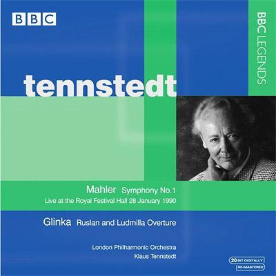 マーラー:交響曲第1番『巨人』(1990ライヴ)、グリンカ:『ルスランとリュドミラ』序曲 テンシュテット&ロンドン・フィル(インタビュー付き)
