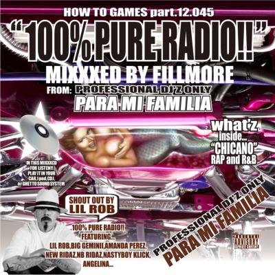 100% Pure Radio Mixxxed By Fillmore