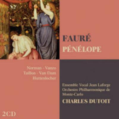 『ペネロープ』全曲 デュトワ&モンテカルロ・フィル、ノーマン、ヴァンゾ、他(1980 ステレオ)(2CD)