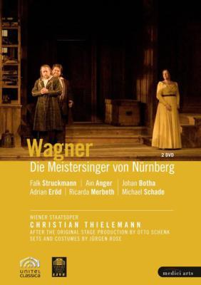 『ニュルンベルクのマイスタージンガー』全曲 シェンク演出、ティーレマン&ウィーン国立歌劇場、シュトゥルックマン、ボータ、他(2008 ステレオ)(2DVD)