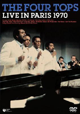 Four Tops Live In Paris 1970