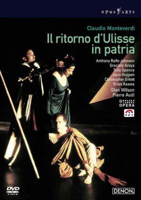 『ウリッセの帰還』全曲 オーディ演出、ウィルソン&バロック・オーケストラ、ロルフ・ジョンソン、アサワ、他(1998 ステレオ)(2DVD)