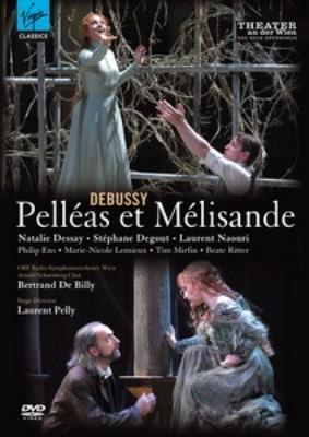 『ペレアスとメリザンド』全曲 ペリー演出、ド・ビリー&ウィーン放送響、デセイ、ドゥグー、他(2009 ステレオ)(2DVD)