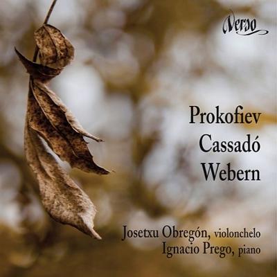 Music For Cello & Piano-prokofiev, Cassado, Webern: Obregon(Vc)Prego(P)