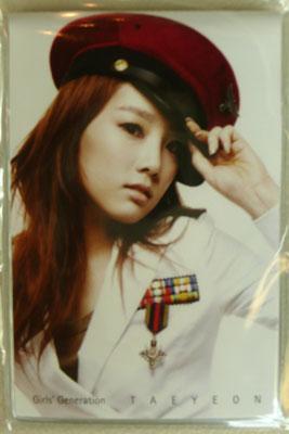 少女時代: パスケースW: テヨン Tea Yeon