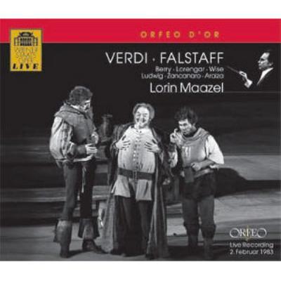 『ファルスタッフ』全曲 マゼール&ウィーン国立歌劇場、ベリー、ローレンガー、他(1983 ステレオ)(2CD)