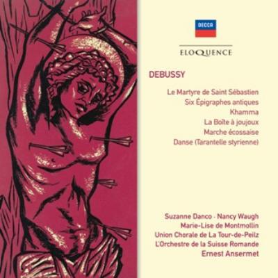 『聖セバスティアンの殉教』全曲、カンマ、スコットランド行進曲、他 アンセルメ&スイス・ロマンド管弦楽団、ダンコ(2CD)