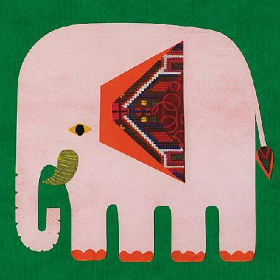 ママと小さな天使へ::子象の行進〜地球のハーモニー