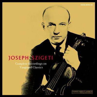 Joseph Szigeti Vanguard Collection (11CD)
