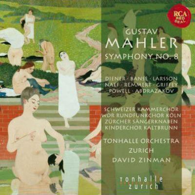 交響曲第8番『千人の交響曲』 ジンマン&チューリヒ・トーンハレ管弦楽団(2SACD)