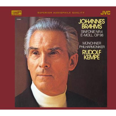 Symphony No, 4, : R.Kempe / Munich Philharmonic (xrcd24)