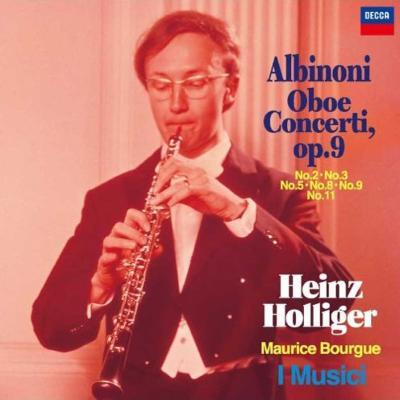 オーボエ協奏曲集 ハインツ・ホリガー、モーリス・ブルーグ、イ・ムジチ合奏団