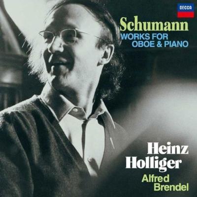 オーボエとピアノのための作品集 ハインツ・ホリガー、アルフレート・ブレンデル