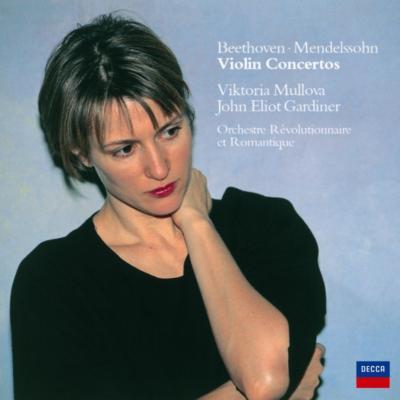 ベートーヴェン:ヴァイオリン協奏曲、メンデルスゾーン:ヴァイオリン協奏曲 ムローヴァ、ガーディナー&レヴォリューショネル・エ・ロマンティーク
