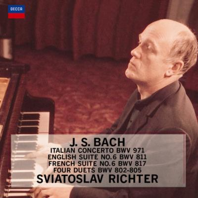 イタリア協奏曲、イギリス組曲第6番、フランス組曲第6番 リヒテル