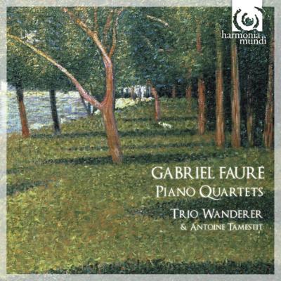 ピアノ四重奏曲第1番、第2番 トリオ・ワンダラー、タムスティ