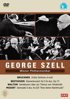 ブルックナー:交響曲第3番、ベートーヴェン:ピアノ協奏曲第5番『皇帝』、ウォルトン、モーツァルト セル&ウィーン・フィル、グルダ(1966、68)