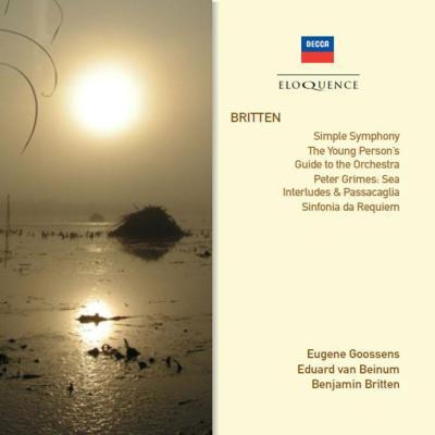 管弦楽曲集 ベイヌム&コンセルトヘボウ管、グーセンス&ロンドン新響、ブリテン&デンマーク国立放送響