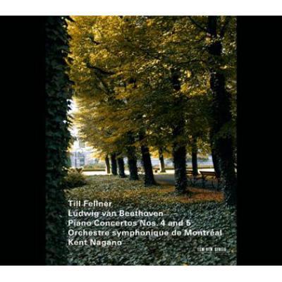 ピアノ協奏曲第4番、第5番『皇帝』 ティル・フェルナー、ナガノ&モントリオール交響楽団