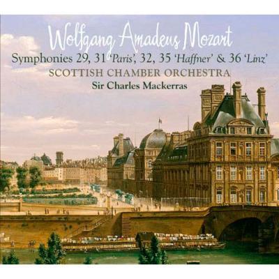 交響曲第29、31、32、35、36番 マッケラス&スコットランド室内管弦楽団(2SACD)