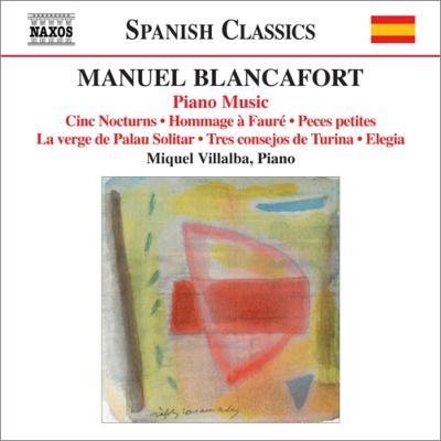 ピアノ作品全集第5集 ビリャルバ : ブランカフォート、マヌエル(1897 ...