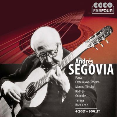 アンドレス・セゴビア/バッハ、ポンセ、ロドリーゴ、他(4CD)