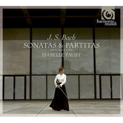 無伴奏ヴァイオリンのためのパルティータ第2番、第3番、ソナタ第3番 ファウスト