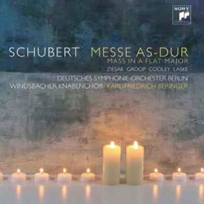 ミサ曲第5番 ベリンガー&ベルリン・ドイツ響、ヴィンツバッハ少年合唱団、ツィーザク、他