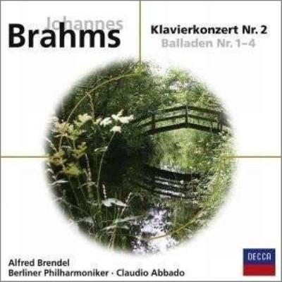 ピアノ協奏曲第2番、4つのバラード ブレンデル、アバド&ベルリン・フィル