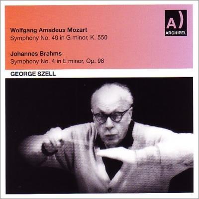 ブラームス:交響曲第4番、モーツァルト:交響曲第40番 セル&北ドイツ放送響(1959)