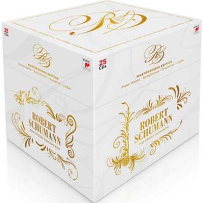 シューマン生誕200年記念エディションBOX レヴァイン、アバド、アーノンクール、キーシン、他(25CD)